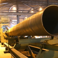 Pipe Run out Section of Our SP Mill